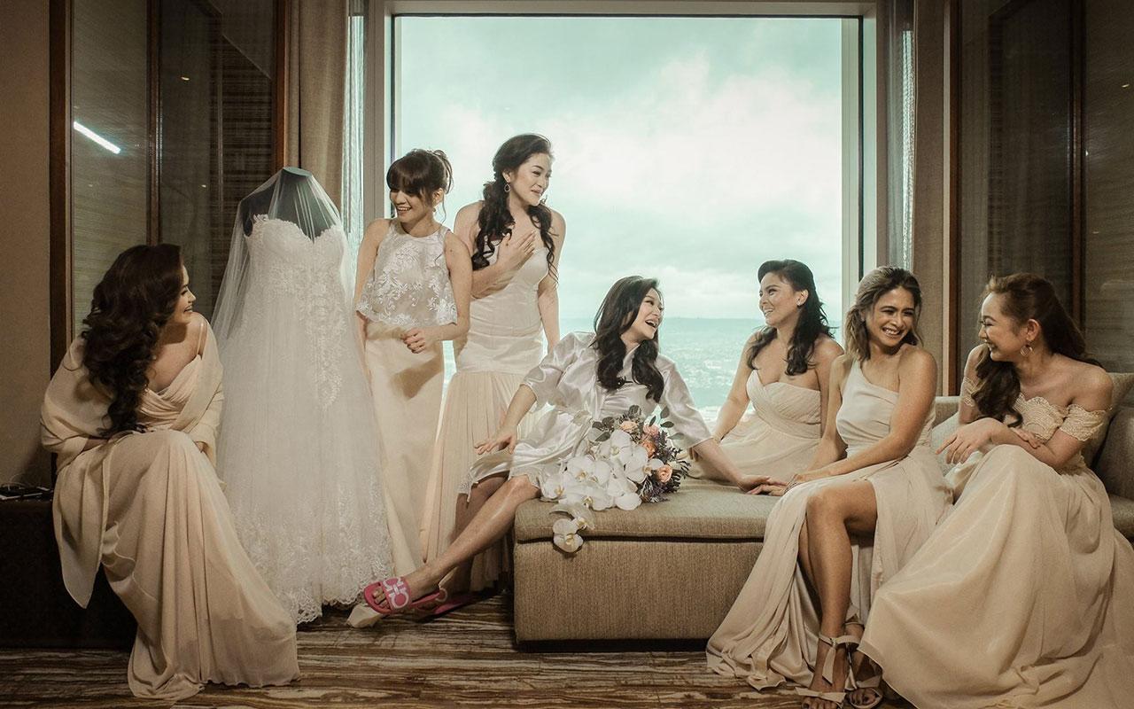Trevor Magallanes and Rufa Mae Quinto Wedding