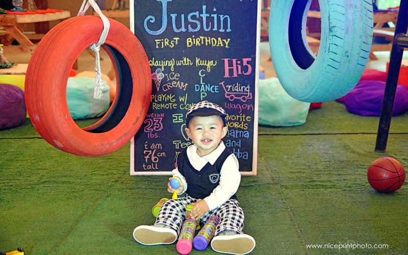 Justin Cabatu 1st Birthday Party