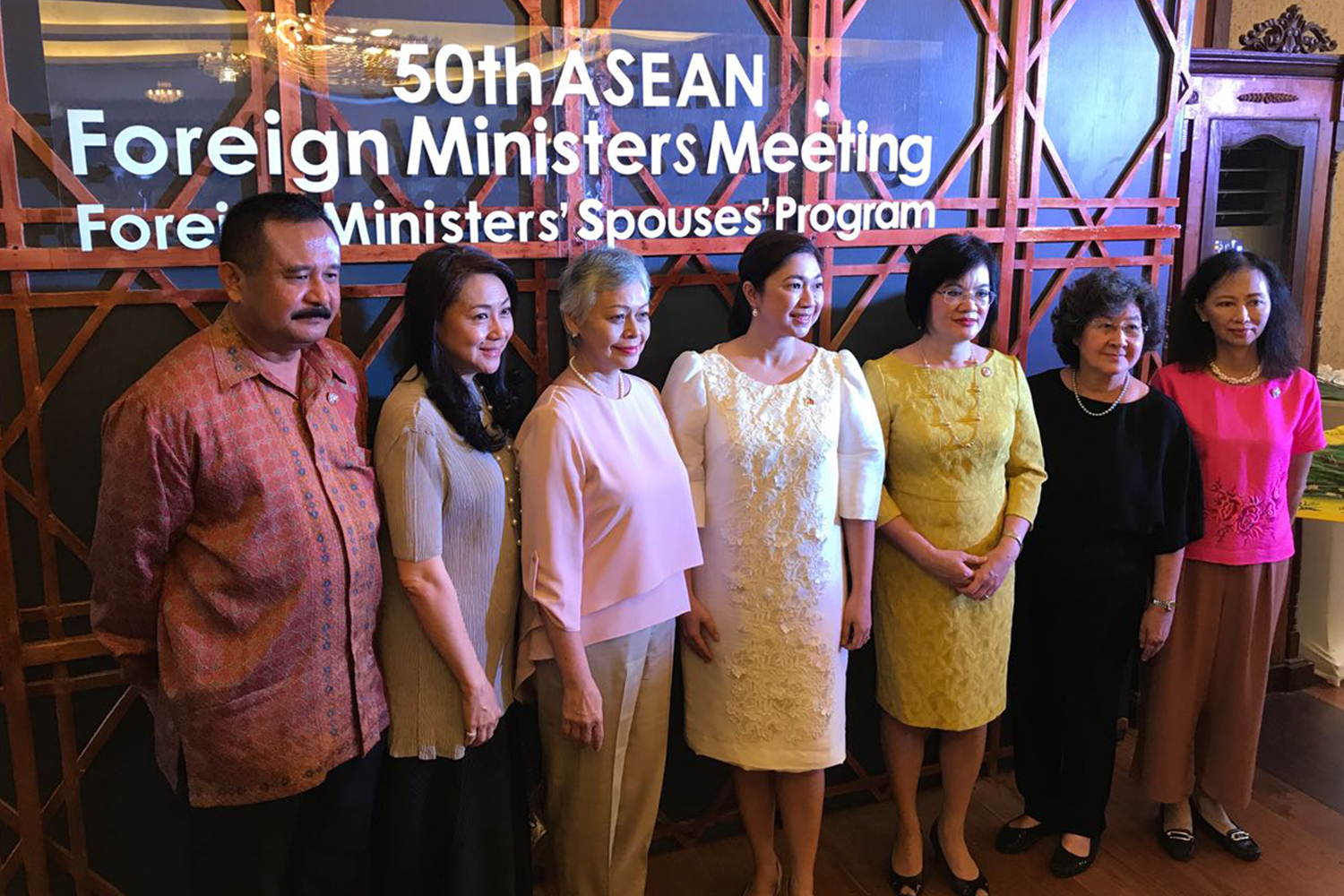 ASEAN Foreign Minister Spouses Luncheon
