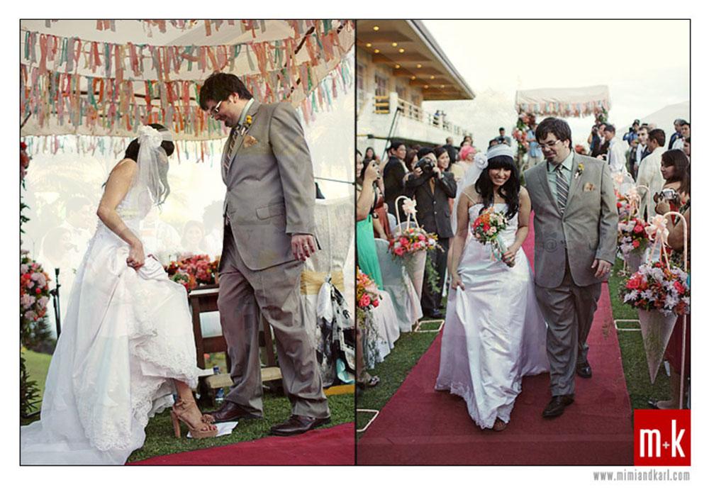 Erik and Classy Tagaytay Wedding