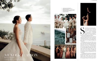 Lifestyle Asia – Cito Mendoza And Cheskie Ayson Wedding | February 2020