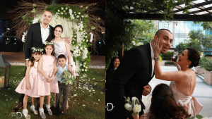 Cosmo Oct 2018 Doug And Chesca Kramer Surprise Renewal Of Vows