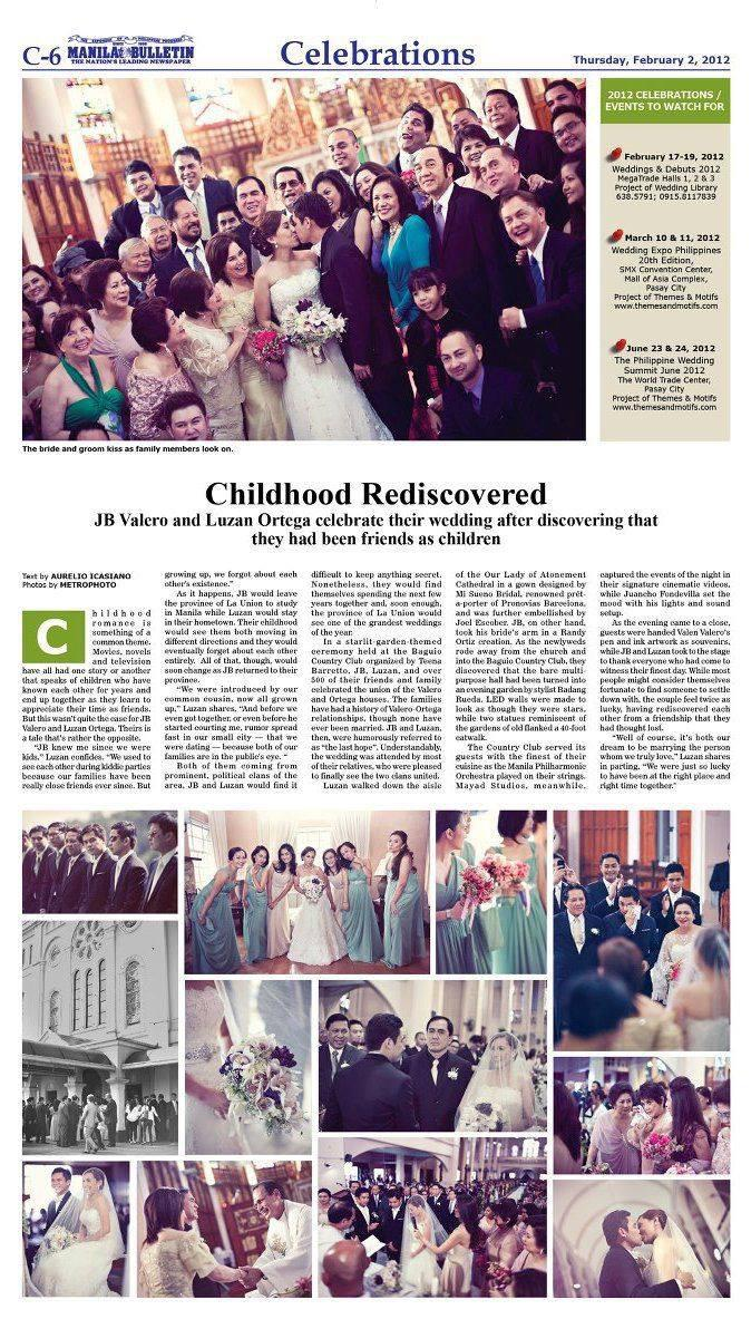 Manila Bulletin Celebrations Feature FEB 2012