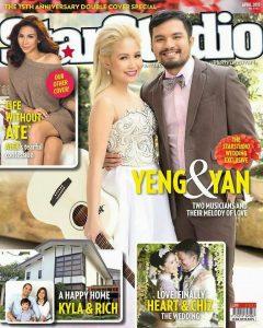Star Studio Magazine Yeng Constantino and Yan Asuncion Wedding