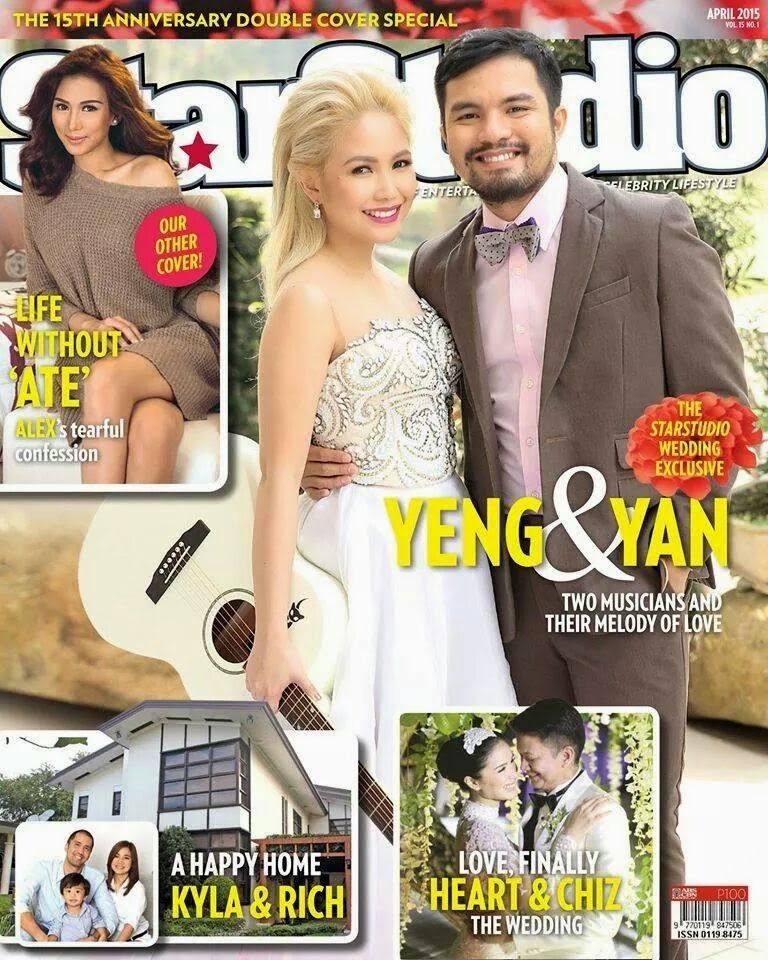 Star Studio Magazine Yeng Constantino and Yan Asuncion Wedding
