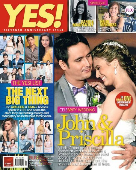 Yes Magazine - John Estrada and Priscilla Meirelles Wedding