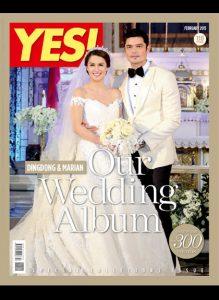 Yes Magazine - Dingdong Dantes - Marian Rivera Wedding | January 2014