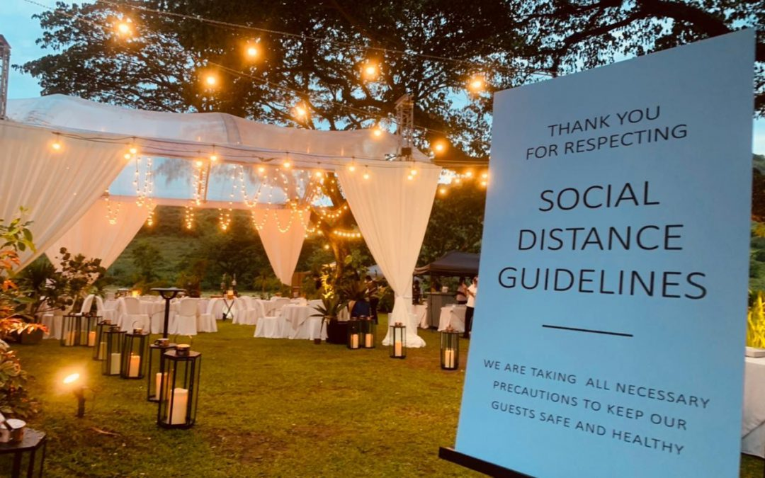 How to provide a safe event for your guests?